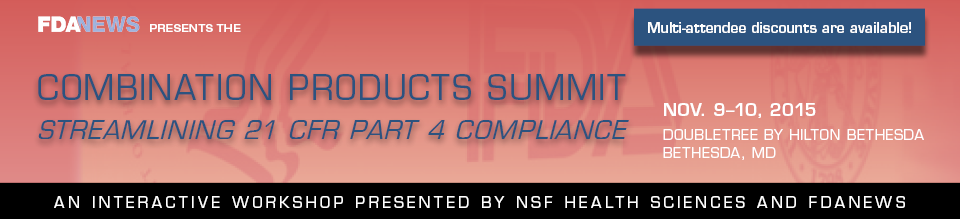 Combination Products Summit