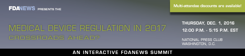 Medical Device Regulation in 2017