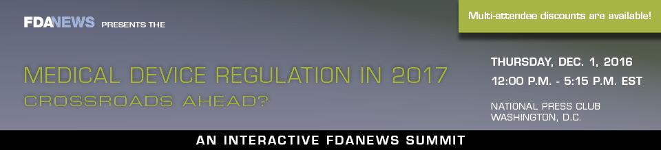 Medical Device Regulation in 2017