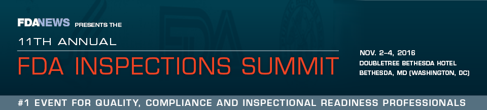 11th Annual FDA Inspections Summit