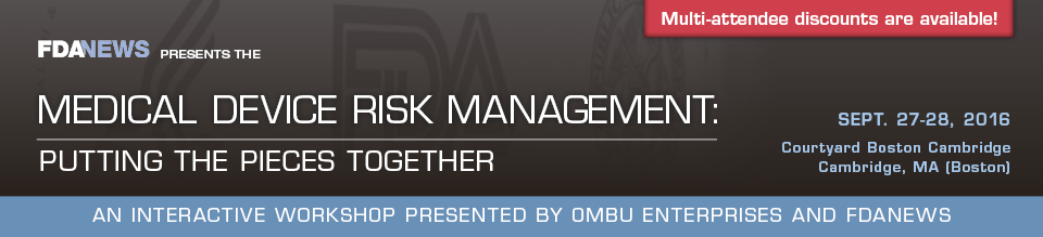Medical Device Risk Management
