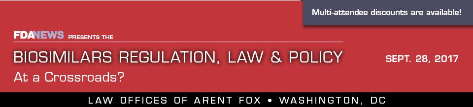 Biosimilars Regulation, Law & Policy