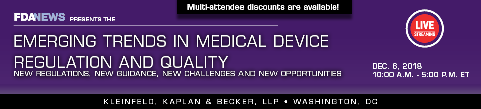Emerging Trends in Medical Device Regulation and Quality