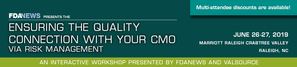 Ensuring the Quality Connection with Your CMO: Via Risk Management