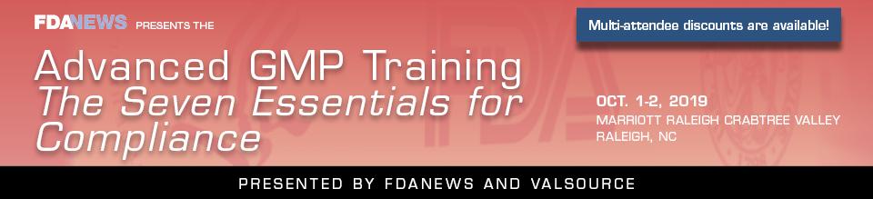 Advanced GMP Training