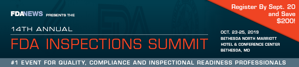 Annual FDA Inspections Summit