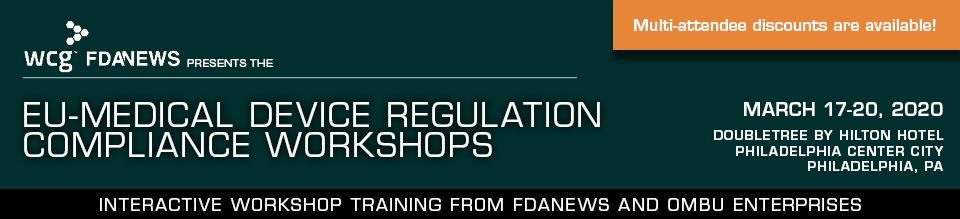 EU-Medical Device Regulation Compliance Workshops